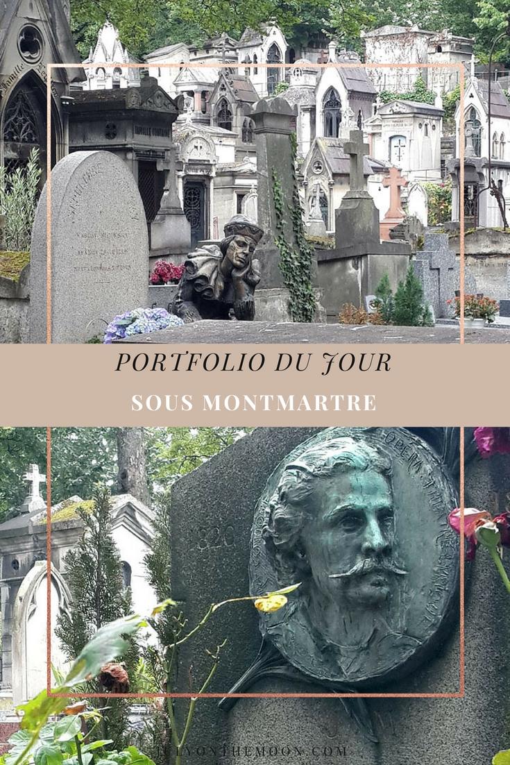 blog photographie portfolio cimetière montmartre