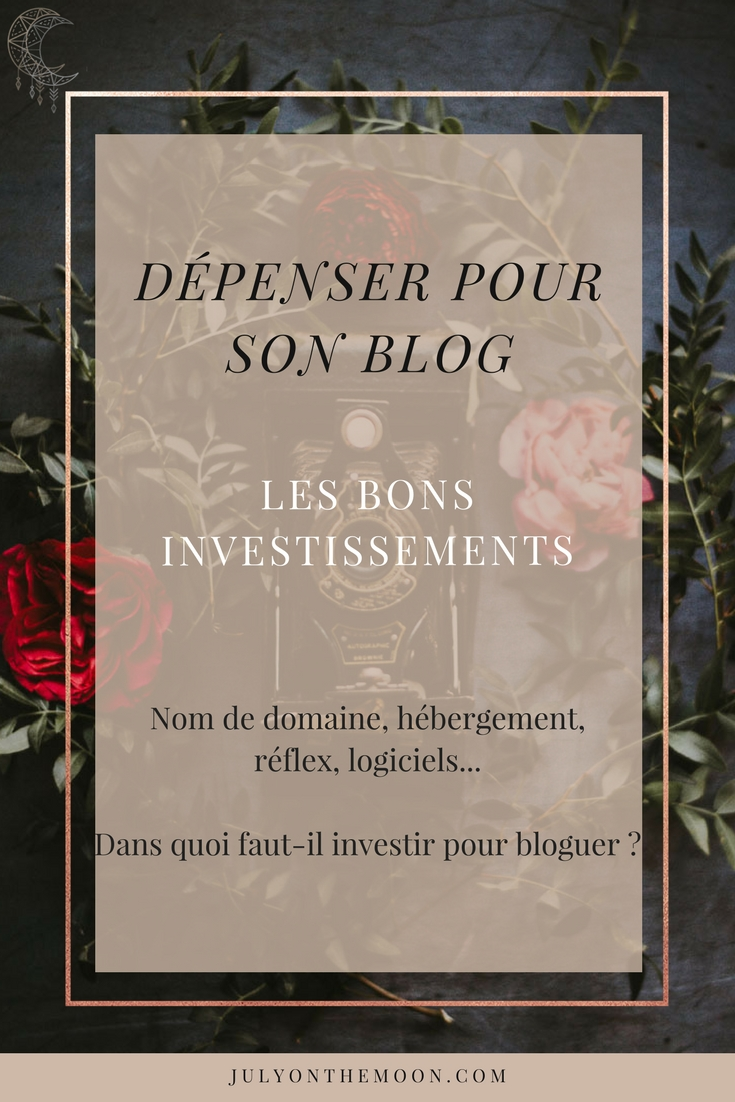blog photographie dépense investir hebergement wordpress appareil photo