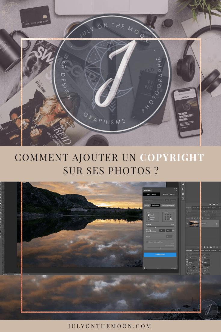 Comment ajouter un copyright sur ses photos en 30 secondes ?